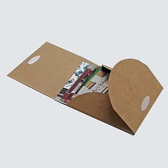 Caixa carpeta. Envasos personalitzats.