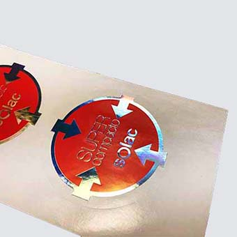 sticker stamping y troquelado