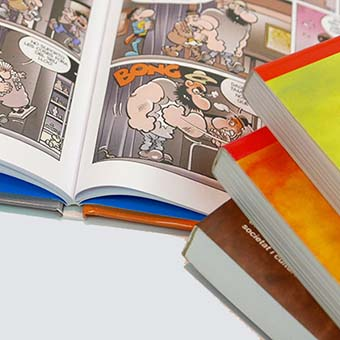 Productes enquadernats: Llibres tapa dura i fresats en cola