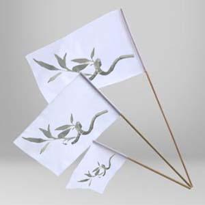 banderes amb pal