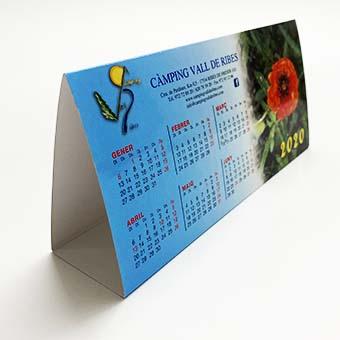 Calendari peana personalitzat